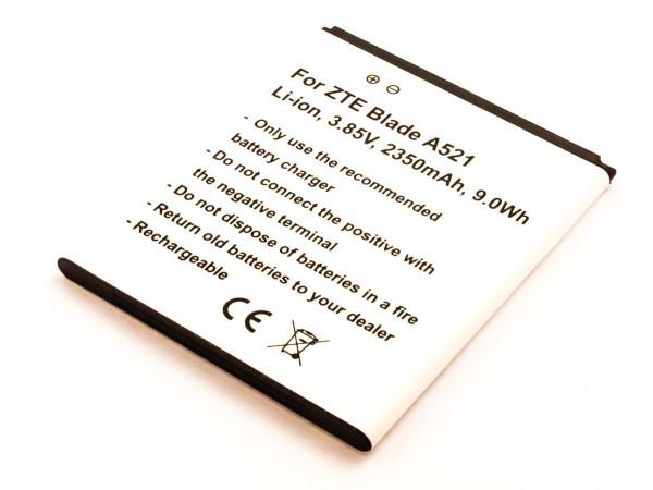 Akku für ZTE BLADE A603, BLADE A521, A520C, A520, BA603, BA520, LI3824T44P4H716043