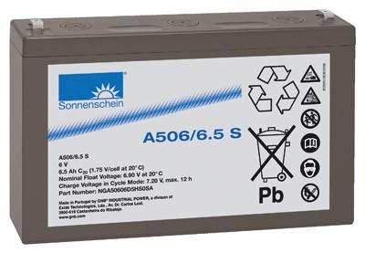 Sonnenschein Dryfit A506/6.5S Faston 4,8