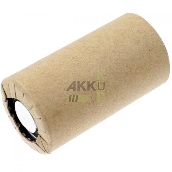 Akku PANASONIC N-1700SCR / Sub-C / 1,2V 1700mAh / Pappmantel / Ni-Cd