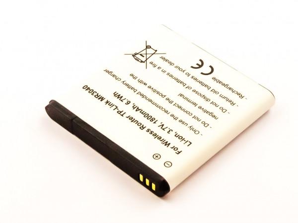 Akku für Wireless Router TP-Link MR3040, Li-ion