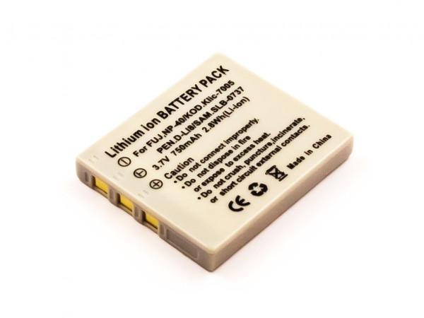 Akku für Creative CAS10 Fuji NP-40N Kodak Klic-7005 Panasonic CGA-S004 Pentax D-Li8, D-Li95