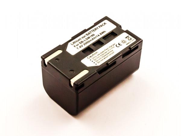 Akku für SAMSUNG ersetzt SB-LSM80, SB-LSM160