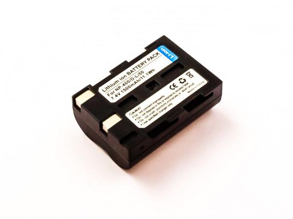 Akku für Minolta NP-400, Pentax D-Li50, Samsung SLB-1674, Sigma BP-21/BP-22