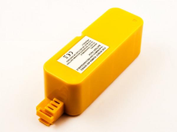 Akku für IROBOT ersetzt 11700, 17373 NiMH, 14,4V, 3300mAh, 47,5Wh