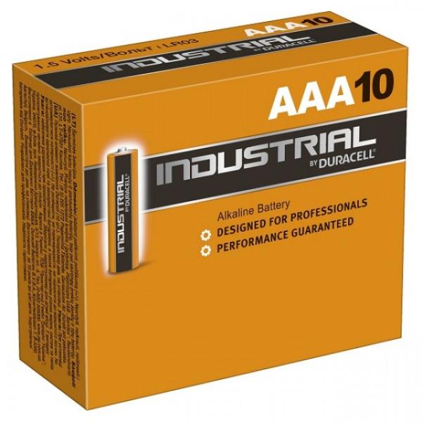 DURACELL AAA ID2400 Industrial 10er Karton