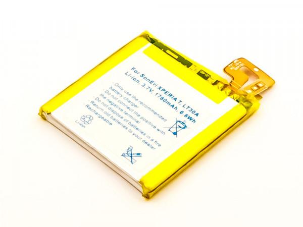 Akku für SONY ERICSSON XPERIA T, MINT, LT30I, LT30A ersetzt LIS1499ERPC