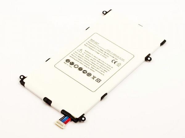 Akku für SAMSUNG SM-T327A, SM-T325, SM-T321, SM-T320, GALAXY TAB PRO 8.4 LTE-A ersetzt T4800E