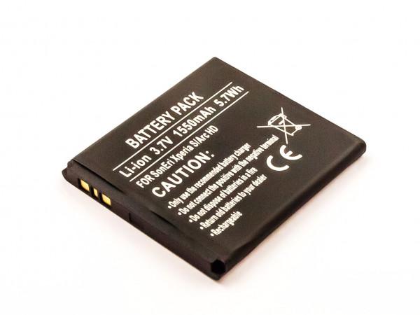 Akku für SONYERICSSON ARC HD, XPERIA S ersetzt LT26I, LT26, BA800