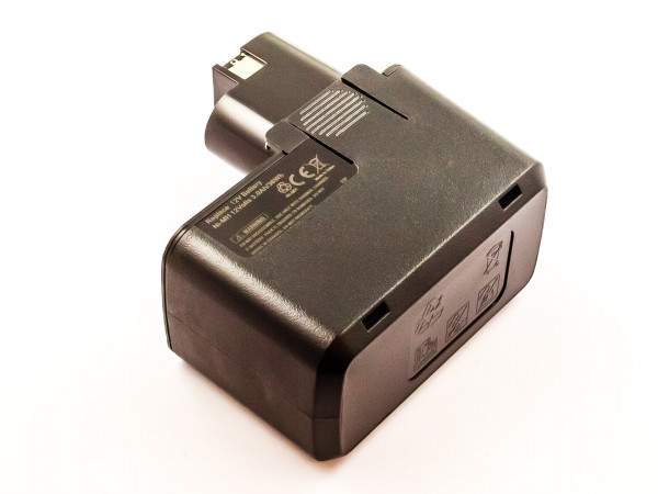Akku für BOSCH NiMH, 12V, 3000mAh, 36Wh, black