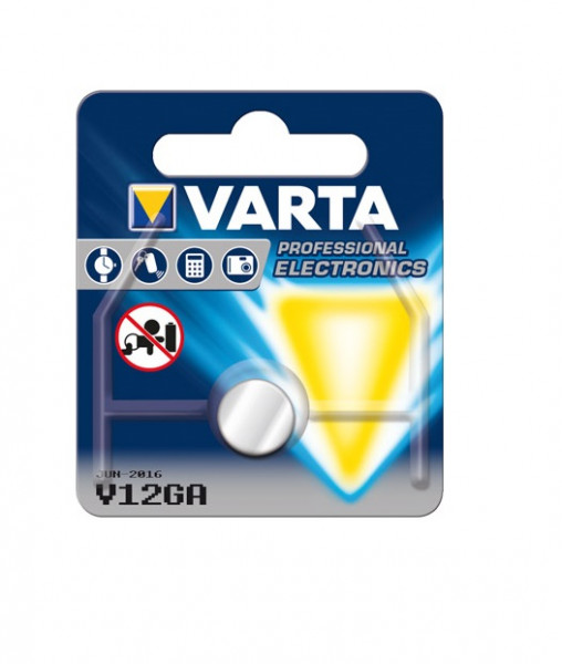 Varta Knopfzelle Electronics V 12 GA Alkaline 1,5 V