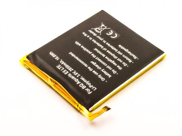Akku für BQ AQUARIS E5.0, AQUARIS E5 LTE, AQUARIS E5 4G, 858, 760, 759 ersetzt B25
