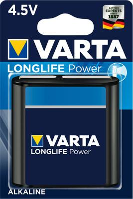 Varta 4912 High Energy Flachbatterie 1er Blister