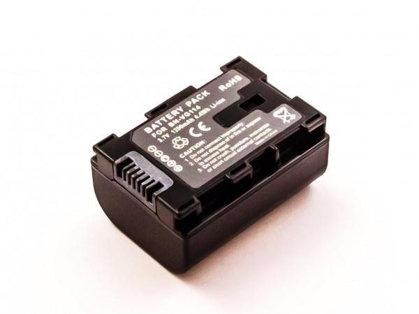 Akku für JVC ersetzt BN-VG114AC, BN-VG114US, BN-VG114, BN-VG114U, BN-VG114SU, BN-VG114E