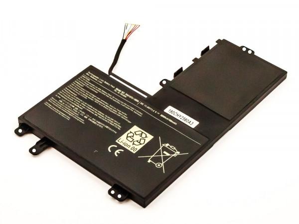 Akku für Toshiba Satellite M40-A, M50-A, M50D-A, M50T,U40T-A, U50t, U50T-A, PA5157U-1BRS