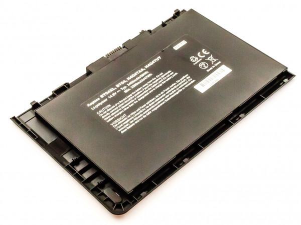 Akku für HP ELITEBOOK FOLIO 9470M, 9470 ersetzt Li-Polymer, 14,8V, 3400mAh