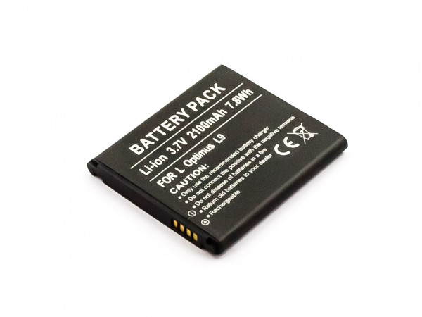 Akku für LG OPTIMUS LTE II, L9 II, D605, ESCAPE, F160K, F160L, 4X HD, F5, L9 ersetzt BL-53QH