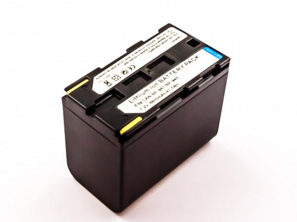 Akku für CANON ersetzt BP-914, BP-927, BP-941, BP-911K, BP-925, BP-930R, BP-955, BP-911, BP-924