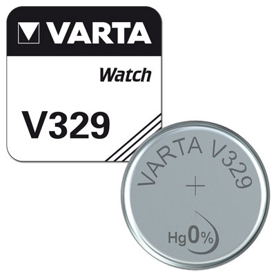 Varta Uhrenbatterie V329 AgO 1,55V - SR731SW