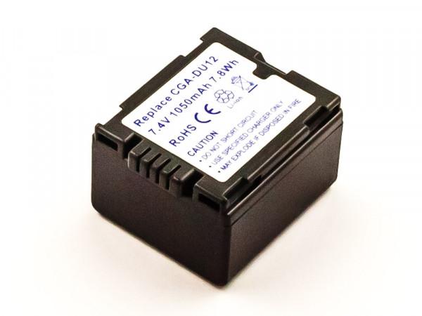 Akku für PANASONIC CGA-DU07E/1B, CGA-DU12A/1B, CGA-DU14, CGA-DU14A/1B, CGR-DU06, CGR-DU07