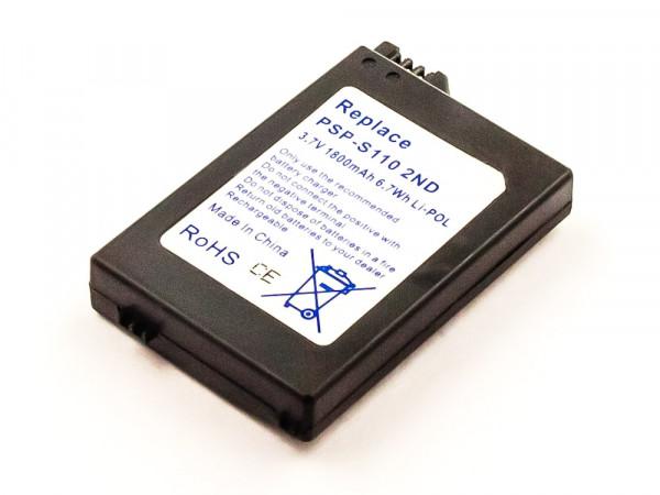 Akku für SONY PSP 2ND GENERATION ersetzt PSP-S110