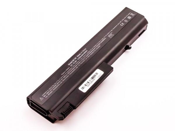 Akku für HP COMPAQ nx5100, nx6100 series, Li-ion, 10,8V, 5200mAh
