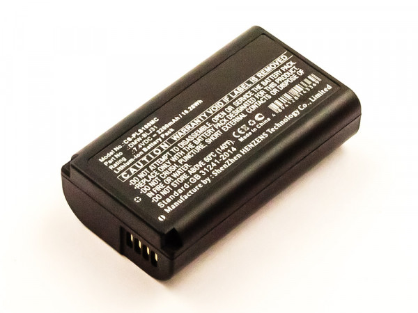 Akku für Panasonic Lumix S1, Lumix S1R ersetzt DMW-BLJ31, DMW-BLJ31E