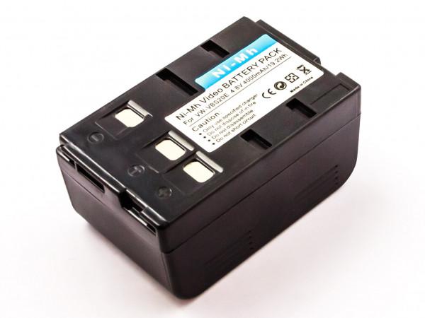 Akku für PANASONIC ersetzt P-V212T/1H, VW-VBS10E, HHR-V212T1B, VW-VBS10, HHR-V212, P-V212