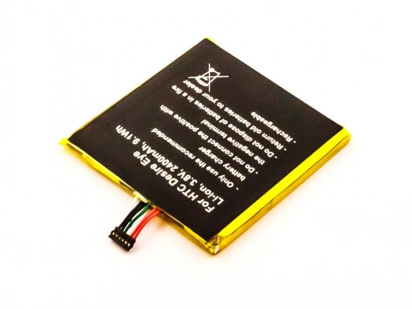 Akku für HTC M910N, DESIRE EYE DUAL SIM, EYE 4G, EYE, 0PFH110, 0P9FH100