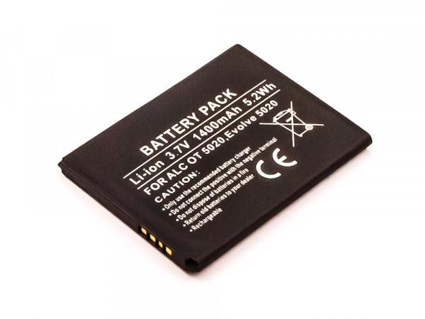 Akku für ALCATEL One Touch M, M POP, S Pop, S Pop Dual, T Pop, X Pop TLI014A1, CAB1400002C1