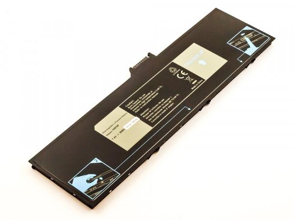 Akku für Dell Venue 11 Pro 7139 Tablet, Venue 11 Pro7130 Tablet Li-Polymer, 7,4V, 4850mAh