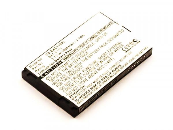 Akku für EMPORIA C131, TELME C131 wie BAT-C110