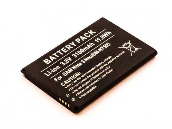 Akku für SAMSUNG GALAXY NOTE 3 ersetzt EB-BN750BBC, EB-BN750BBE