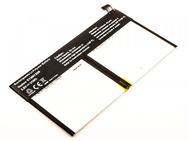 Akku für Asus T100, T100T, T100TA, Transformer Book wie 0B200-00720000, C12N1320, OB200-00720000