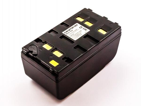 Wendeakku universal für Camcorder, NiMH, 6,0V, 4000mAh, 24,0Wh