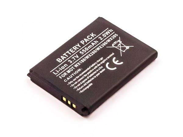 Akku für MOTOROLA WX395, WX390, WX288, WX280, WX260, WX180, WX160, GLEAM, EX211, EX210