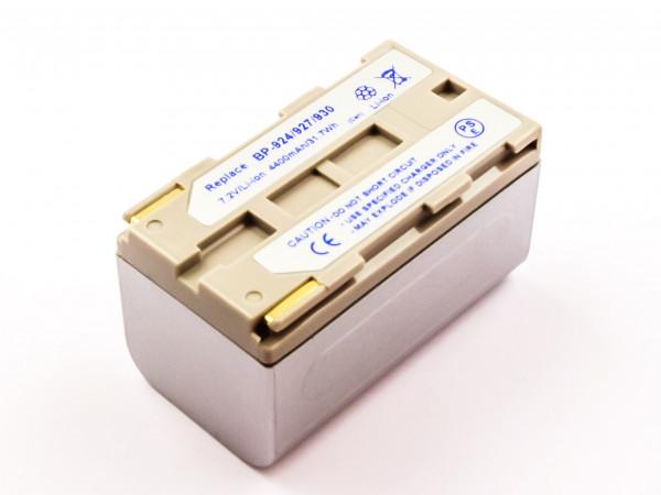 Akku für CANON ersetzt BP-911, BP-924, BP-930E, BP-915, BP-930, BP-914, BP-927, BP-911K