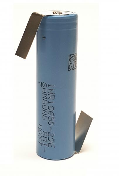 Akku Samsung INR18650-29E E7 3,7V 3C Li-Ion 18650 Lötfahne Z FORM