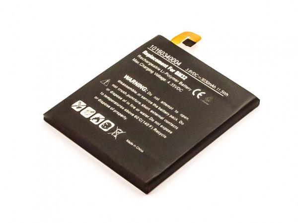 Akku für XIAOMI MI4W, MI4 4G, MI4, LEO, 4 ersetzt BM32