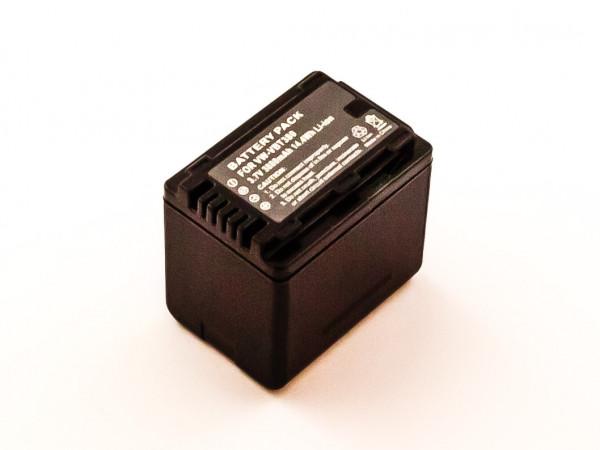 Akku für PANASONIC HC-V110, HC-V130, HC-V710 ersetzt VW-VBT380
