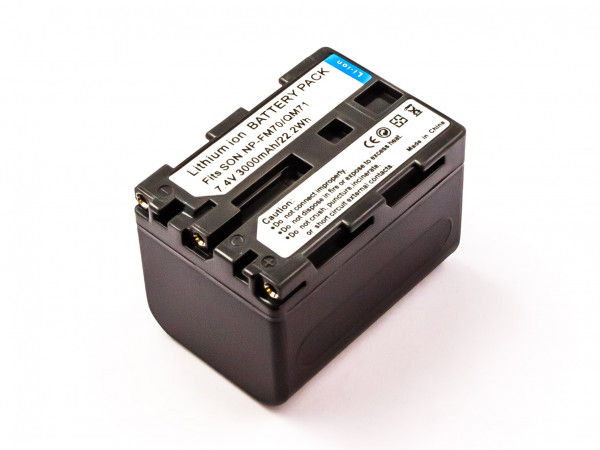 Akku für SONY ersetzt NP-FM70, NP-QM70, NP-FM51,NP-QM51, NP-FM50, NP-QM50, NP-QM71D