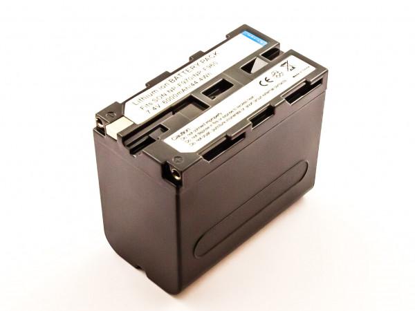 Akku für SONY ersetzt NP-F930, NP-F960, NP-F950/B, NP-F950, NP-F970B, NP-F930/B, NP-F970