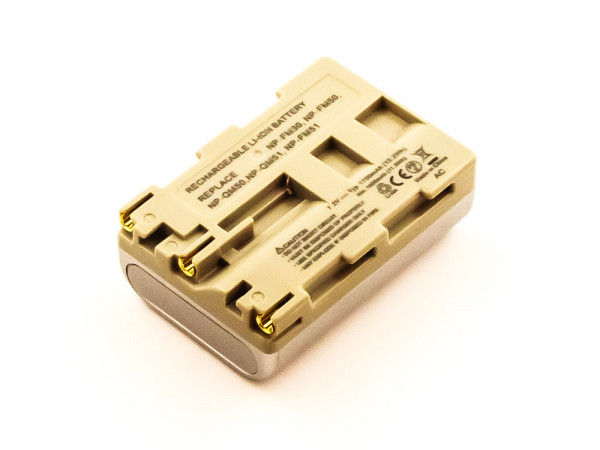 Akku für SONY ersetzt NP-FM30, NP-QM51, NP-QM50, NP-FM51, NP-FM50