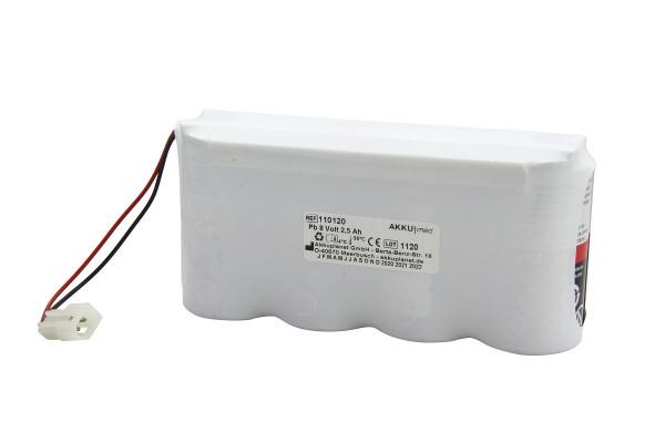 Blei Akku passend für Physio Control Defibrillator Lifepak 200 ( 2 Akkusätze pro Gerät)