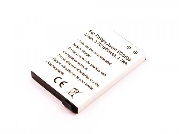 Akku für Philips Avent Eco SCD535, SCD530, SCD535, SCD535/00, SCD536, SCD540,BYD001743