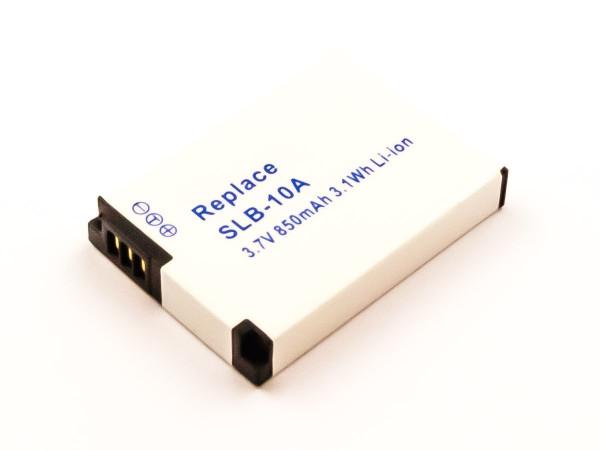 Akku für SAMSUNG SLB-10A, JVC BN-VH105EU, BN-VH105, PX1733, PX1733E-1BRS, PX1733U