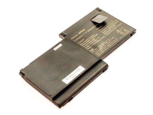 Akku für HP EliteBook 720 G1,720 G2, 725 G2, 725 G3, 755 G3, 820, 820 G1, 820 G2 ersetzt SB03XL