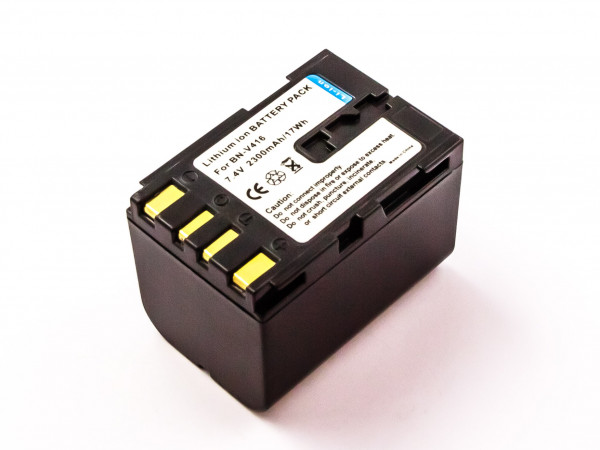 Akku für JVC ersetzt BN-V408-H, BN-V408US, BN-V408, BN-V408U-H, BN-V416U, BN-V408U-B, BN-V416-H