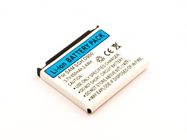 Akku für SAMSUNGGH-E780, SGH-D900I, SGH-D900 ersetzt AB503442CECSTD
