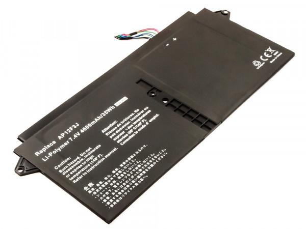 Akku für Acer Aspire S7-391 ersetzt 2ICP 3/65/114-2, AP12F3J, AP12F9J, KT.00403.009